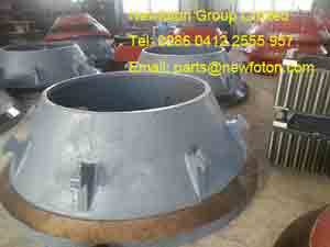 Rolling concave wall of Cone crusher