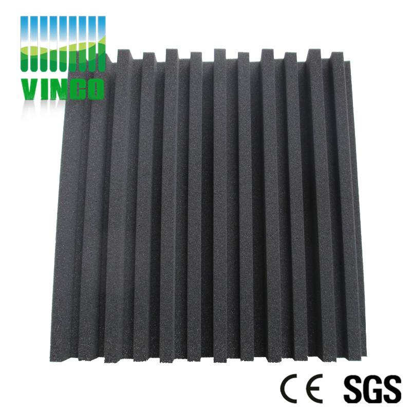 Acoustic foam materials manufacturer beautiful color sound insulation pyramid sponge