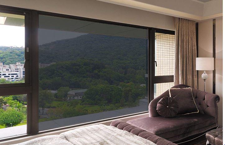 Window Film for Privacy One Way Mirror Solar Film Non Adhesive Static Cling Heat Control Anti UV