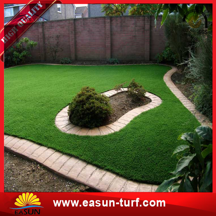 Cheap Chinese Plastic Natural Landscape Garden Plastic grass Mat Artificial garden Grass-Donut