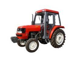 tractors and farm machines