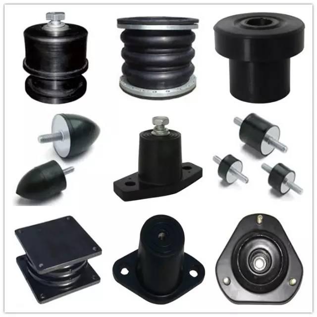 Shock absorber rubber bellows