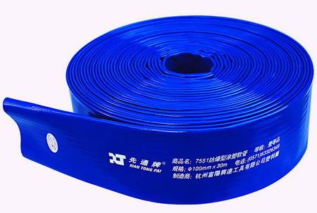 1 inch 25mm pvc layflat hose 2bars
