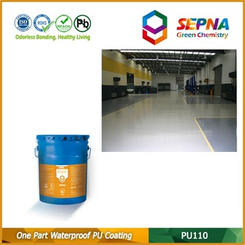 OEM China Factory One Component Polyurethane Waterproof Coating for Concrete Floor
