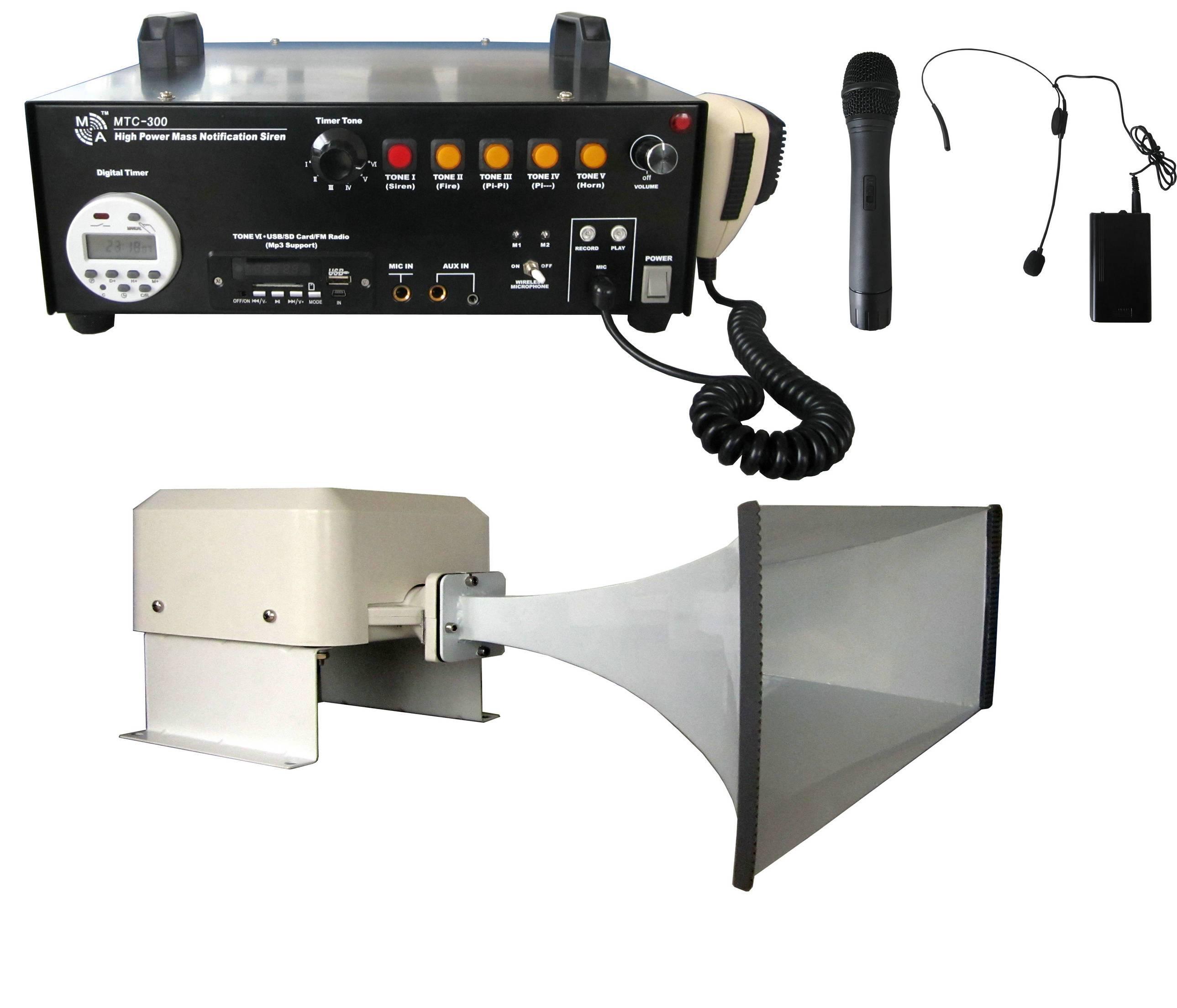 MTC-300 High Power Mass Notification Siren