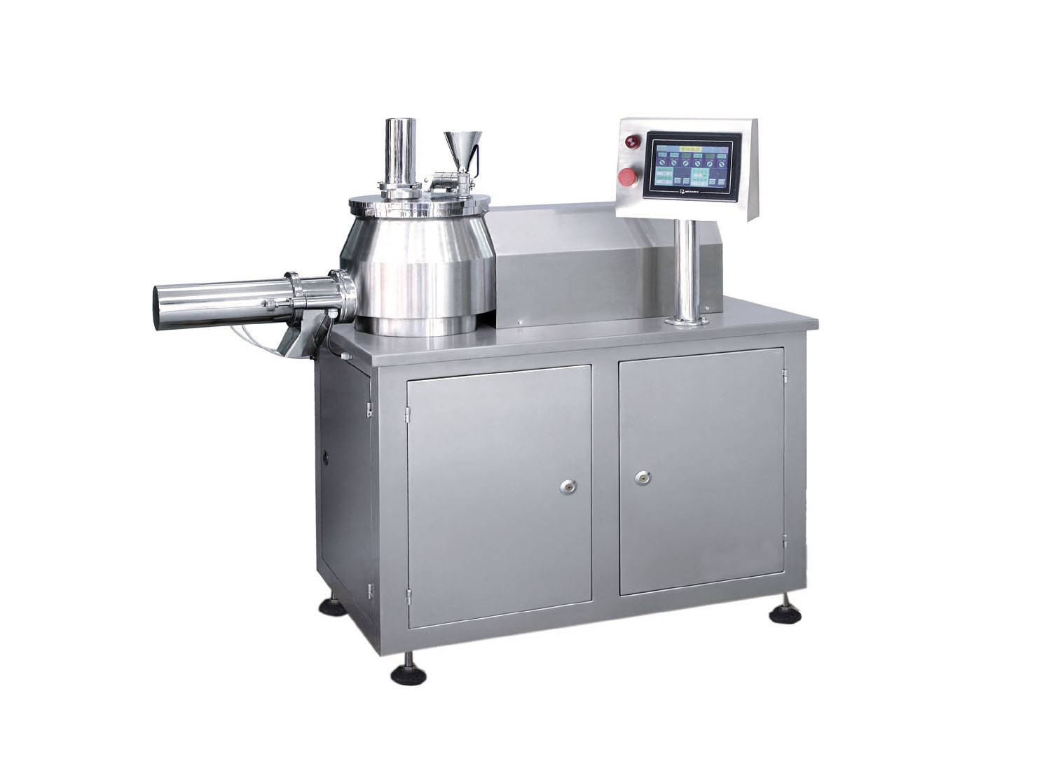 wet mixing granulators