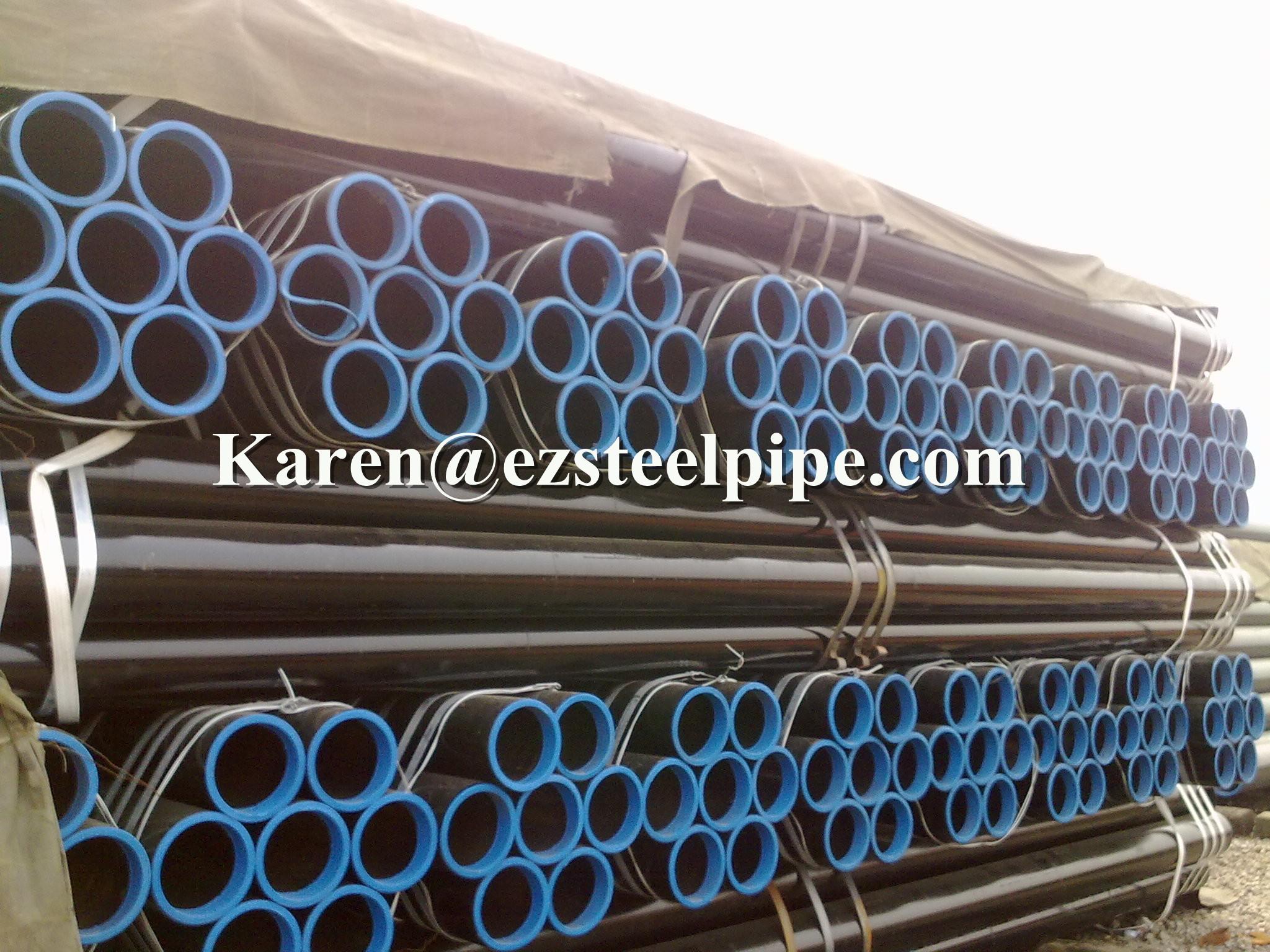 ASTM A53 sch40/schedule 40 seamless steel pipe