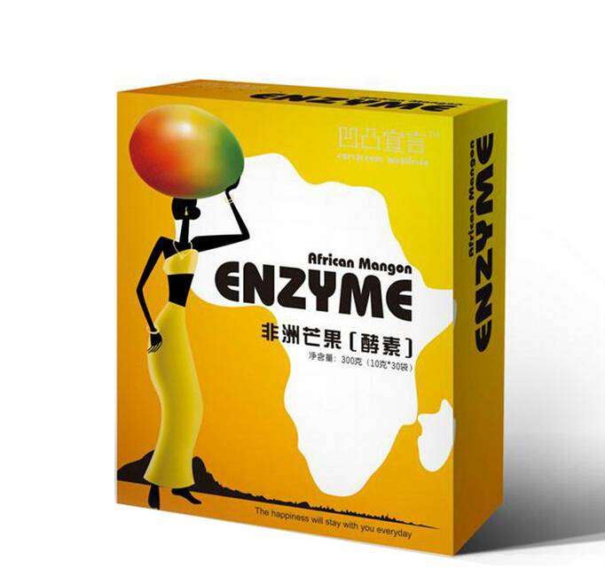 Slimming African Mango Enzyme-- Detox Cleanse Body, loss weight, keep fit