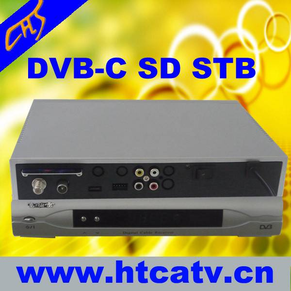 DVB-C MPEG-2 set top box