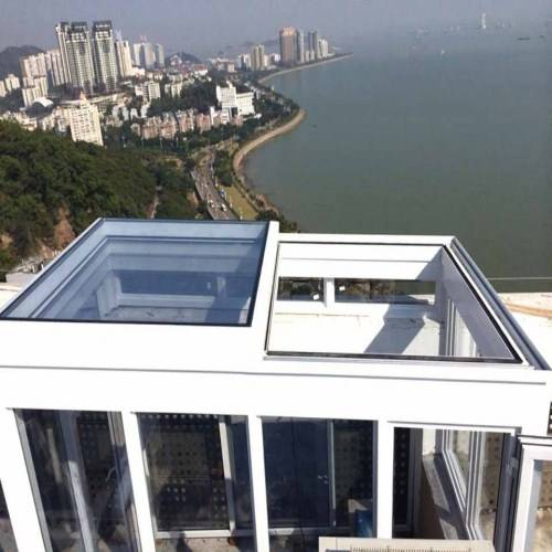 Remote control for roof windows, sliding windows automatically