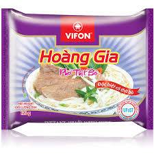 """HOANG GIA"" INSTANT RICE NOODLES WITH BEFF(120g)"