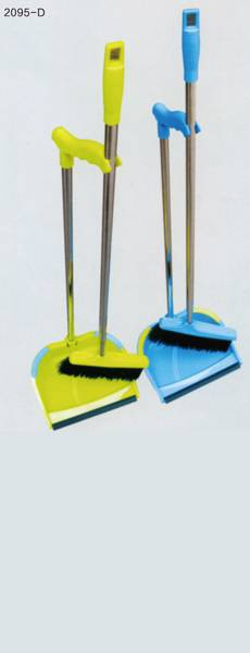 household cleaning broom and dustpan ,household besom assembly