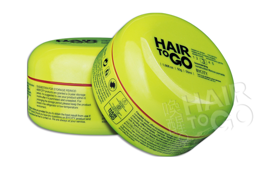 Private label OEM welcomed hair styling series products strong hold hair wax