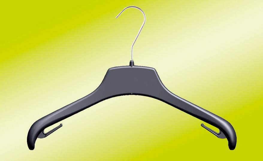 Thin Plastic Hangers for Coats