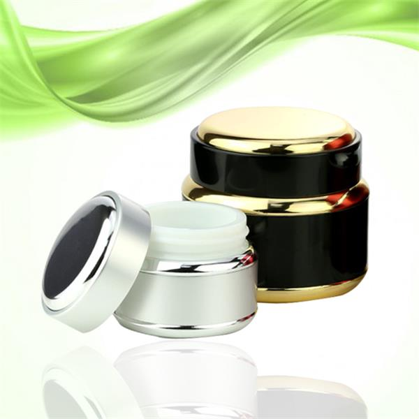 15g 50g 100g aluminum cream jars with aluminum screw cap from china