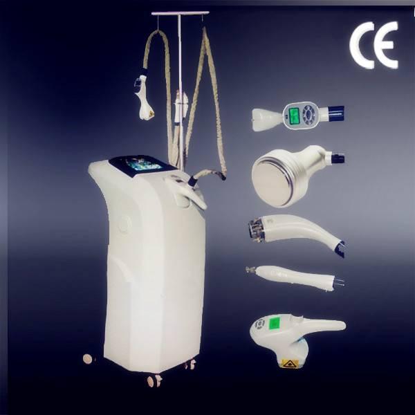 Best slimming! Valeshape cryo+cavi+RF+infrard laser+vaccum slimming machine for reducing weight fitn