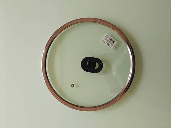 flat glass lid