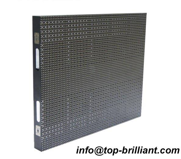 indoor stage led mesh grid curtain screen