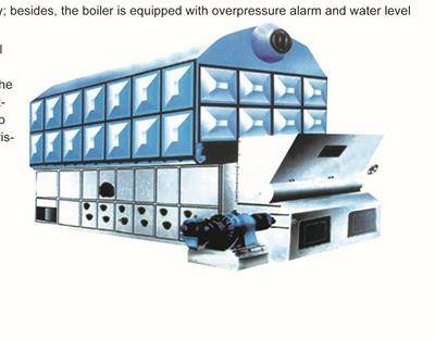 SZL_series packaged water-tube boiler
