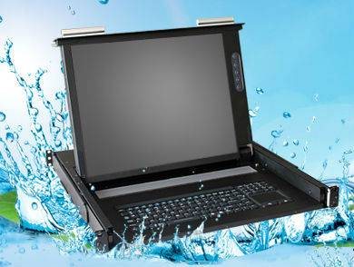 Combo DB15 LCD Console Drawers (Waterproof Version)