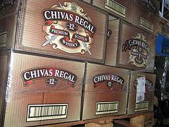 Chivas Regal 12y, 18y, 21y Royal Salute,