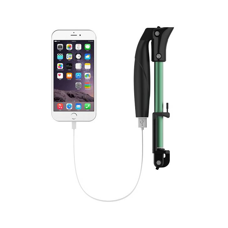 bluetooth selfie stick with power bank