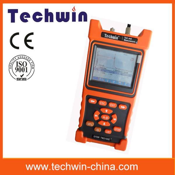 Techwin handheld mini optical fiber otdr TW2100E
