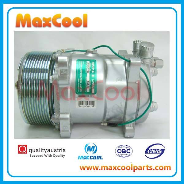 auto ac compressor Universal Sanden 508 5H14 SD508 SD5H14 air conditioning Compressor with Clutch PV