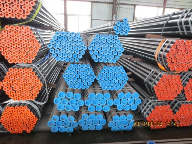 ASTM A106 Black Seamless Pipe-ASTM A106 Black Seamless Pipe Mill