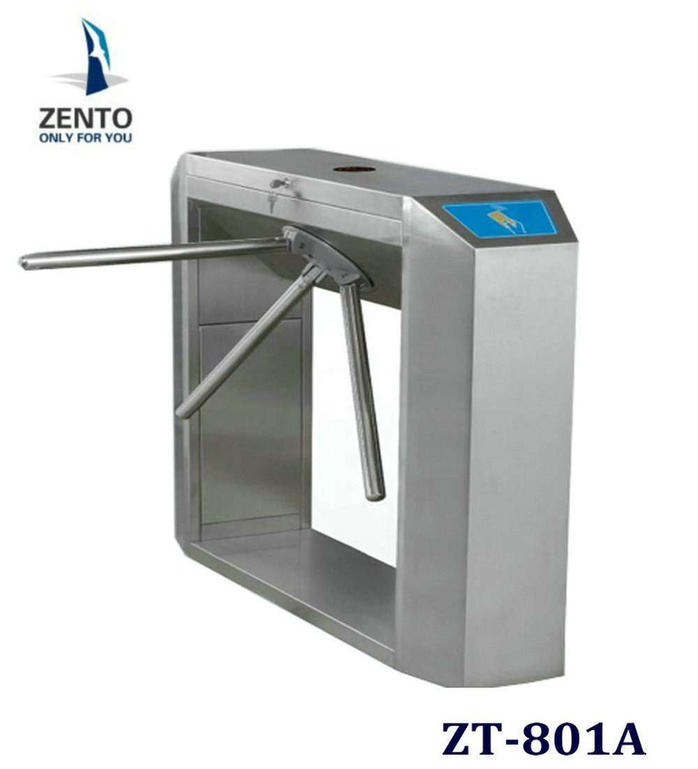 OEM/ODM intelligent facail & fingerprint access control system three-roller gate& Tripod