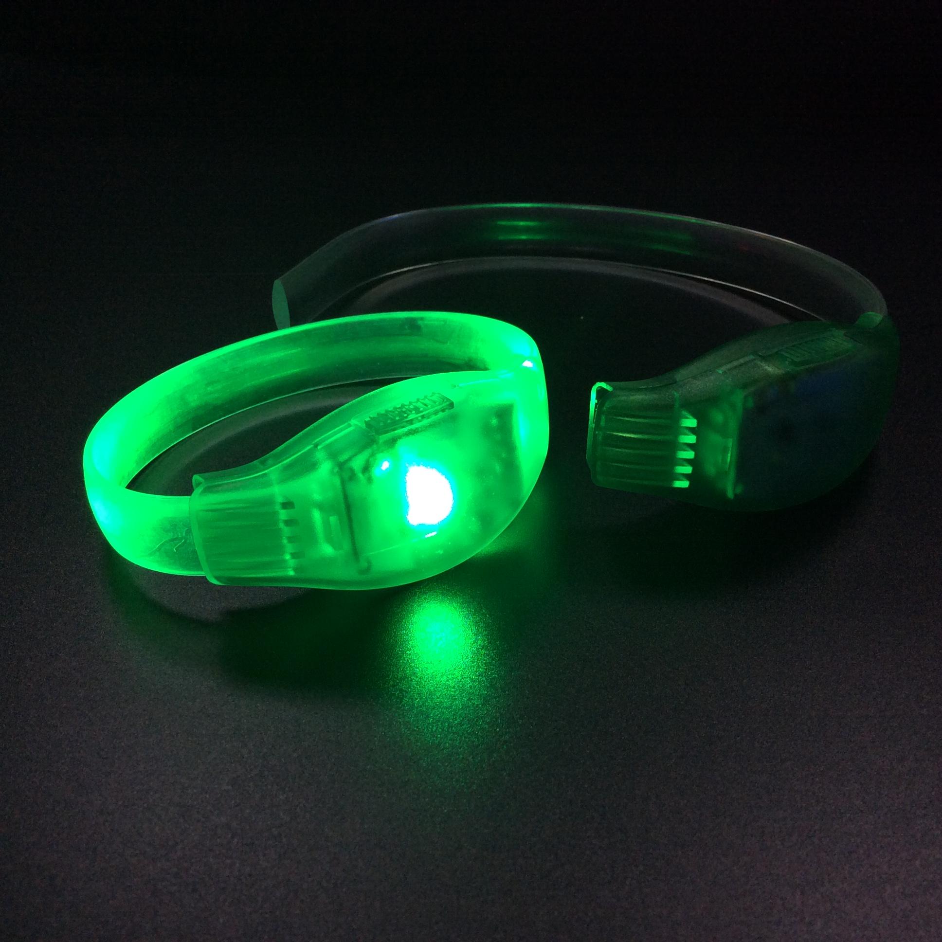 Hot Selling Sensor LED Flashing Bracelet