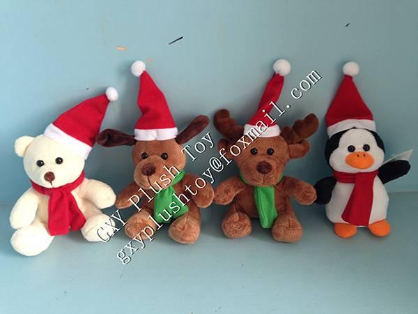 Hot Sale Plush Christmas Toys