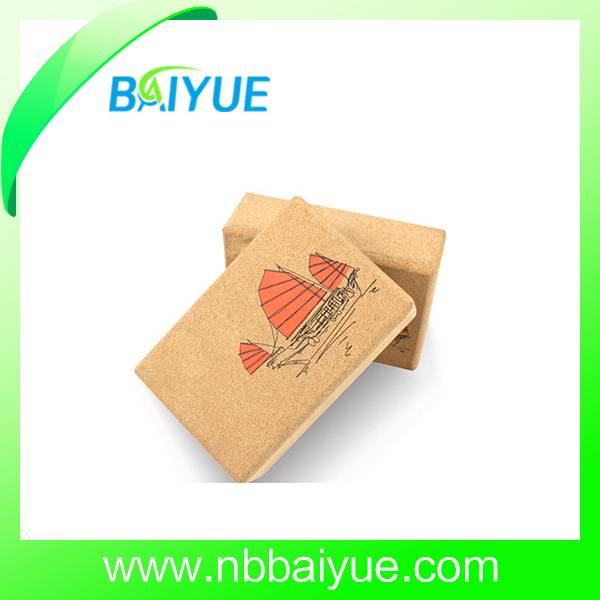 Customized Cork Yoga Block And Bricks