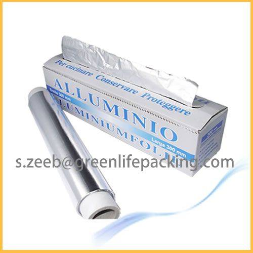 Kitchen use aluminium foil for food packing