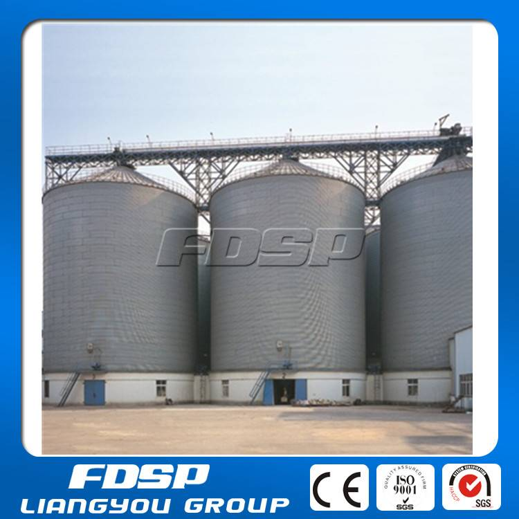 Cereal storing silos with ventilation system,and circulation fumigation system, PLC controlled