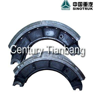 Sinotruk HOWO truck spare parts brake parts