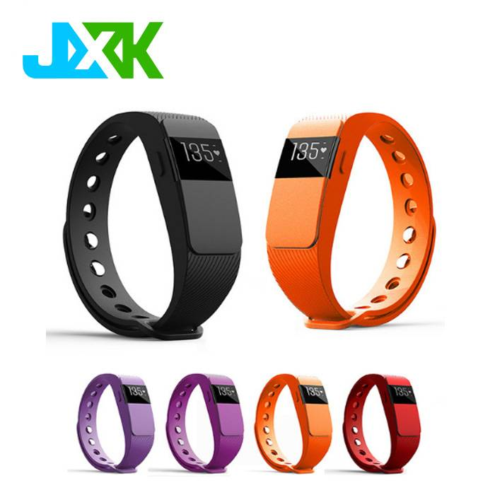 Smart Bracelet Bluetooth 4.0 Smartband Heart Rate Monitor Sleep Fitness Tracker Call Reminder JXK-11