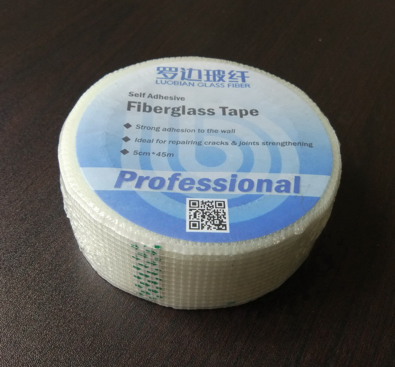 self-adhesive fiberglass mesh Bitumen sealing Tape for roofing/waterproof