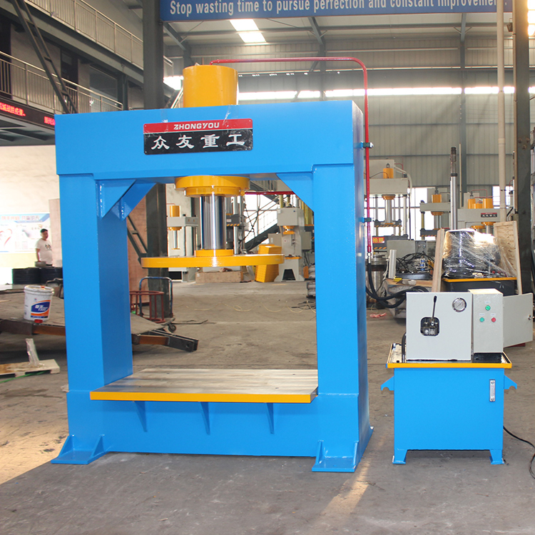 Hydraulic Forklift Solid Tire Press Machine Tyre Changer For Truck