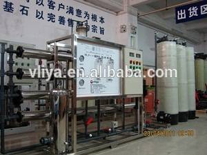 Vliya anionic mixed bed ion exchange water filter system/equipment