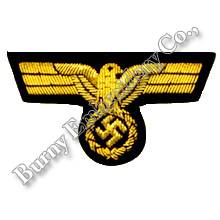 Eagle World War II Hands Embroidery Badges