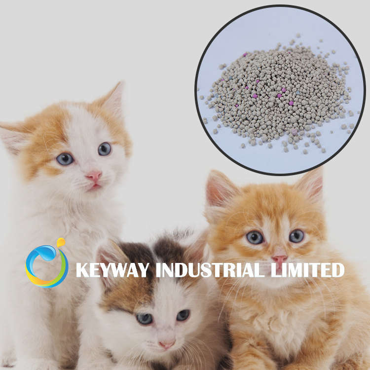 Eco-friendly bentonite cat litter non-toxic and safe to use
