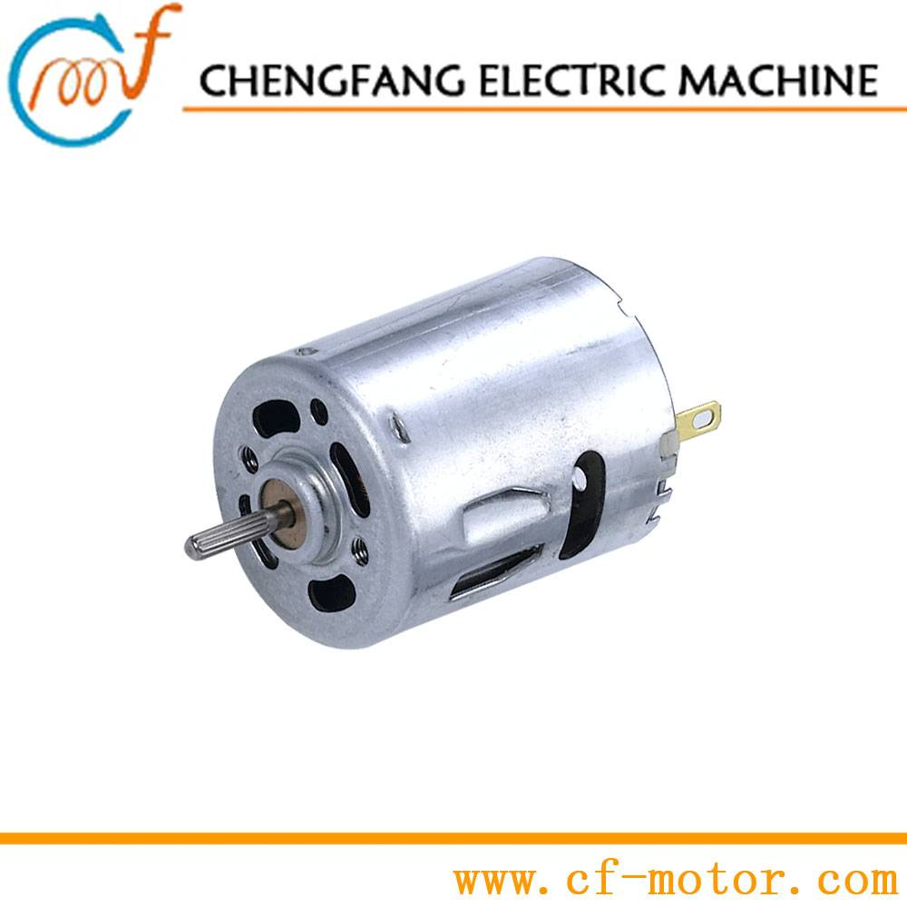 24V high speed dc electric motor for air pumps and water pumps RS-360H/RS-365H
