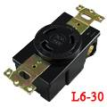 LK2332FB BakeliteL6-30R Locking Receptacle