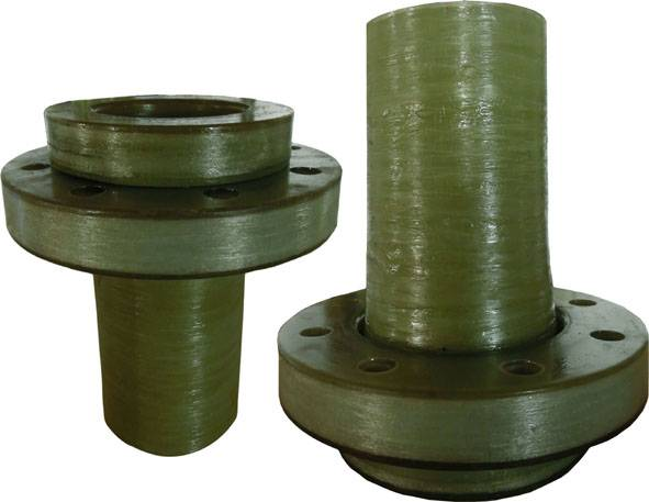 FRP lapped flange