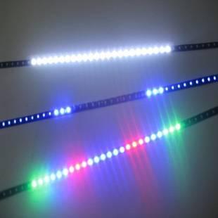 48-LED Car Strip Line Scan Light Bulb Knight Rider RGBW