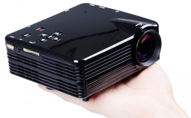 G45 Portable DIY HD multimedia Mini LED Home Theater Projector