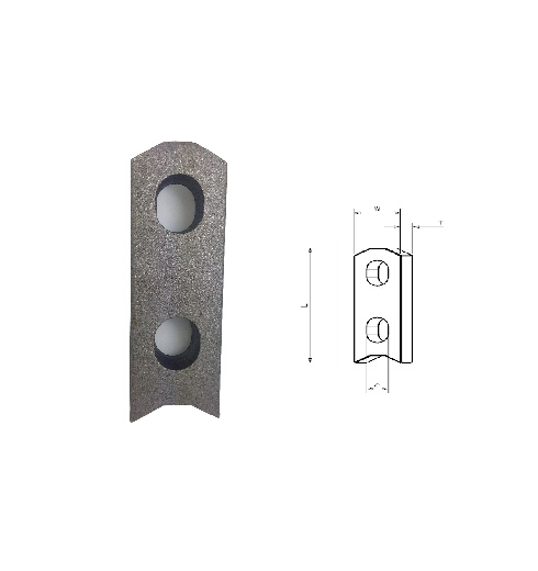 Two Hole Anchor