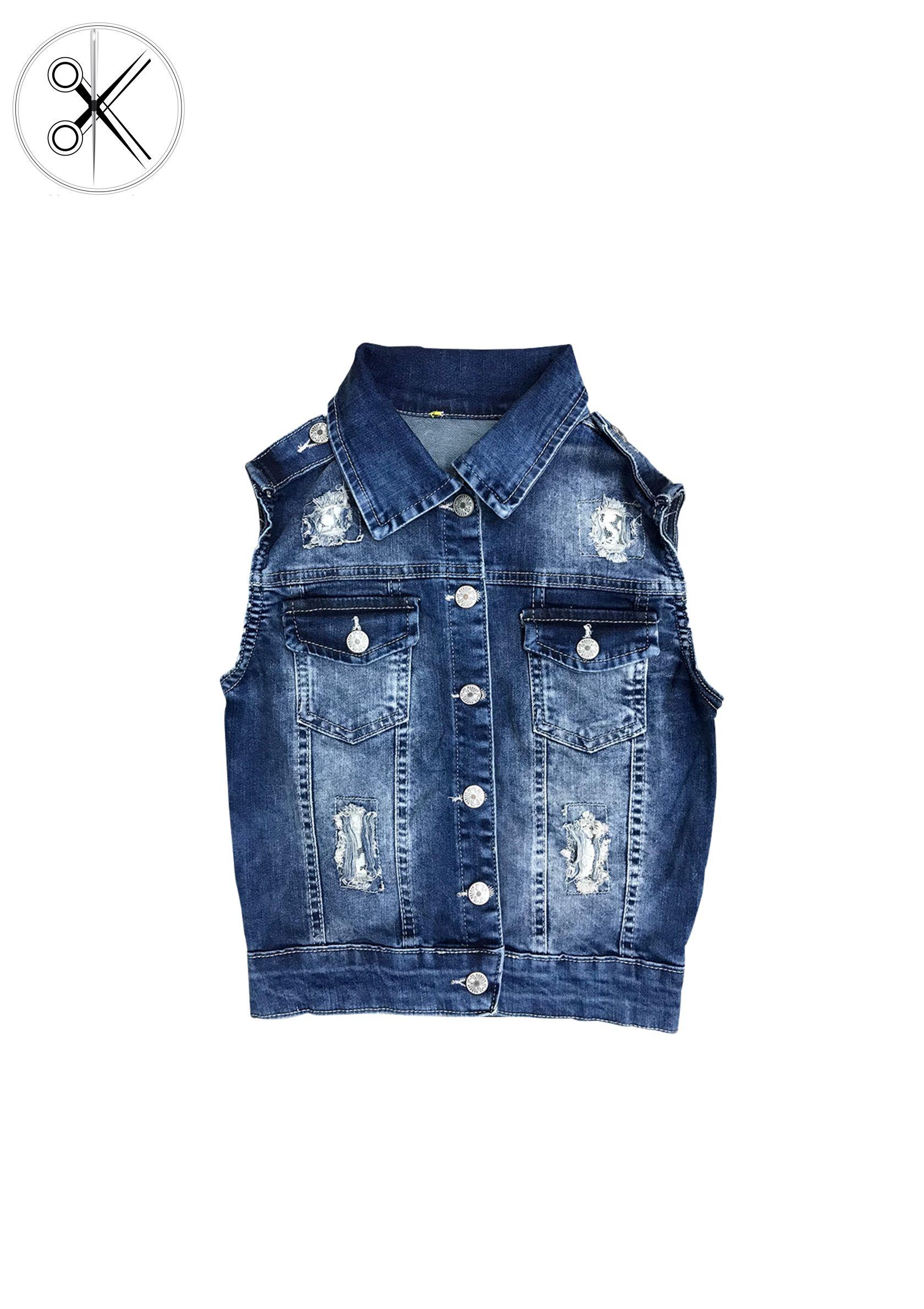 New Fashion Women's Denim Vest