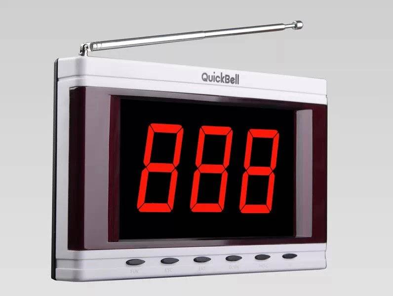 Quickbell wireless calling system receiver S613